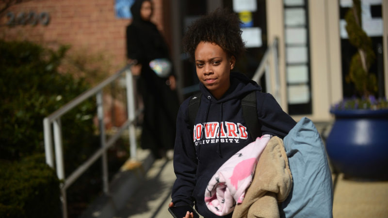 University students in the US capital denounce deplorable conditions in student residences