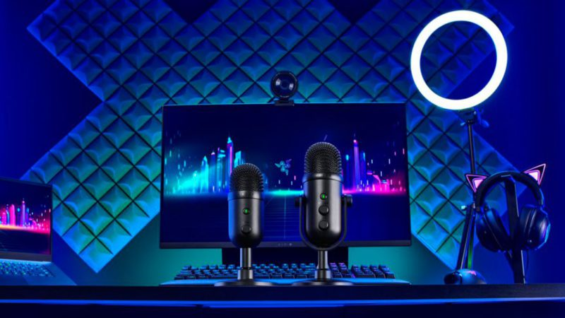 Razer introduces new Seiren V2 Pro and Seiren V2 X microphones for streamers