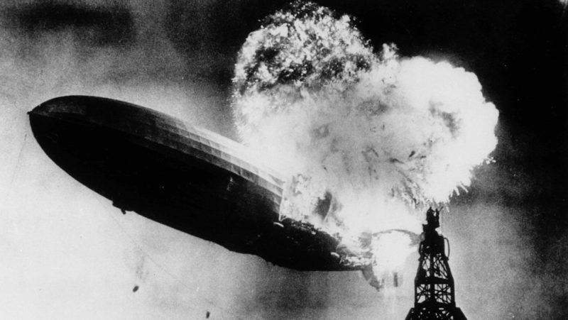 VIDEO: Restauran en color y HD la catástrofe del Hindemburg, que marcó el fin de la era de los dirigibles