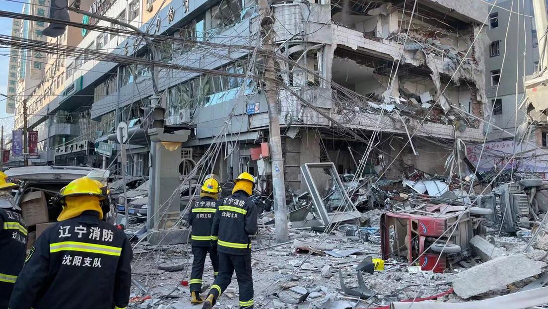 VIDEO: Al menos un muerto y más de 30 heridos tras una fuerte explosión en el noreste de China