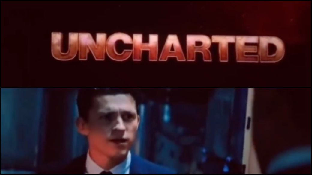 Uncharted: first leaked movie trailer with Tom Holland