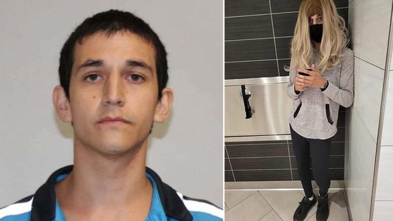 Un hombre se disfrazaba de mujer para entrar al baño de damas y grabar a niñas y jóvenes con una cámara oculta en sus zapatos