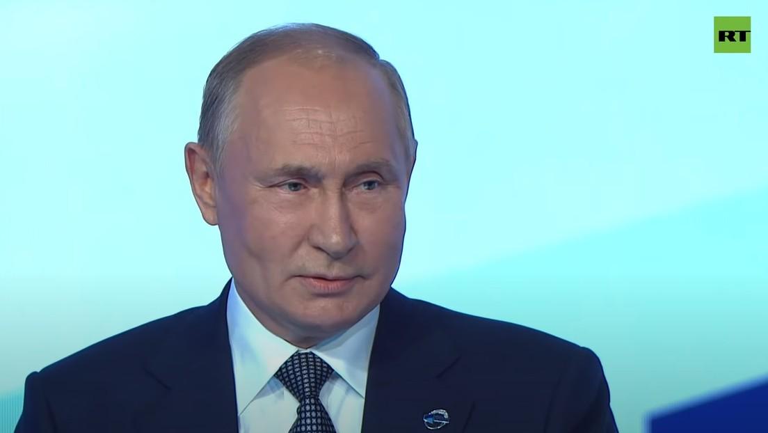 """Putin afirma que mientras que """"antes una guerra perdida por un país significaba una victoria para otro"""", ahora la """"guerra no se detiene"""""""