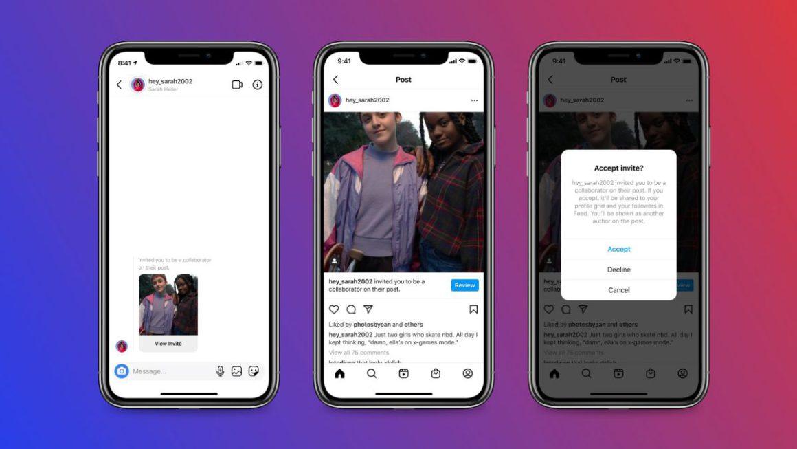 Instagram Collabs, el método para compartir los Me Gusta y las publicaciones