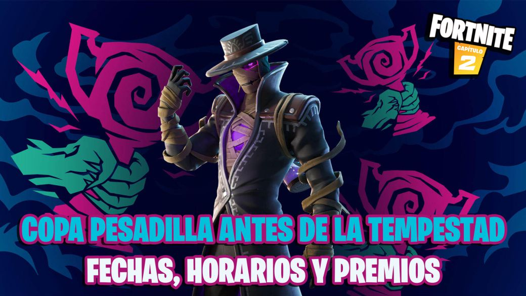 Nightmare before the Tempest Cup in Fortnite: dates, times and prizes