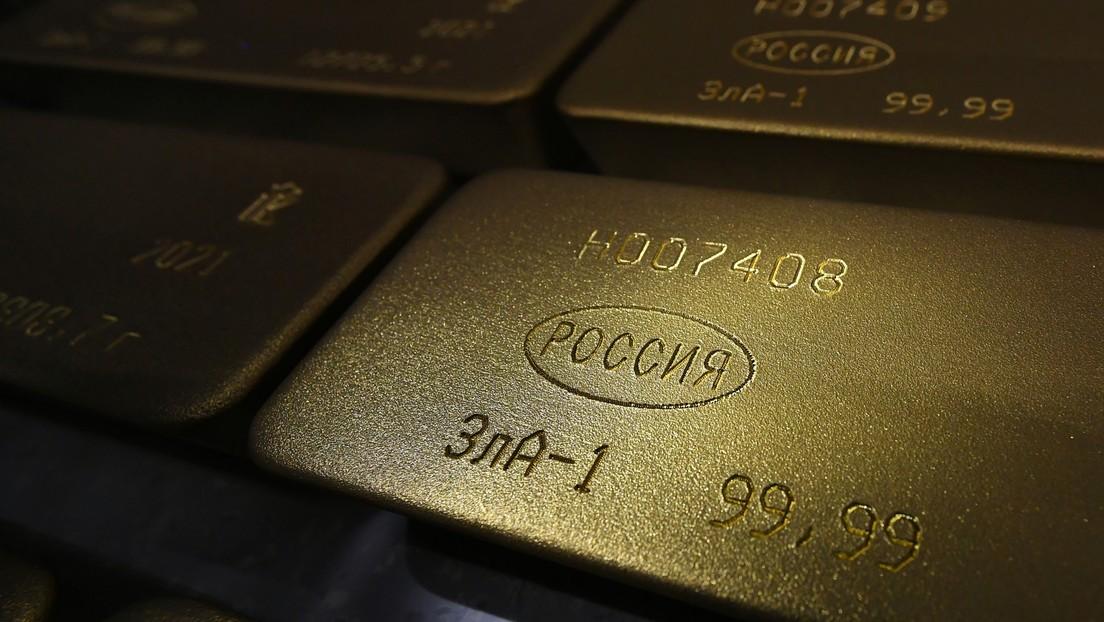 Rusia continúa añadiendo oro a sus vastas reservas internacionales