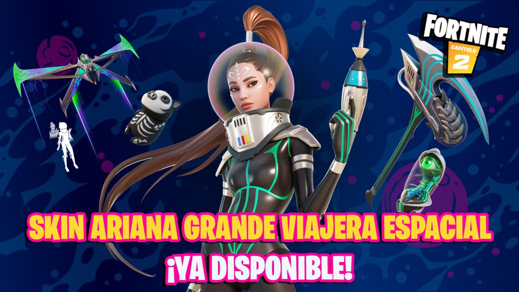Fortnite: Ariana Grande Space Traveler skin now available;  price and contents