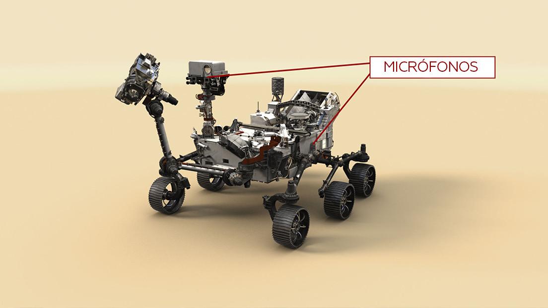 ¿Cómo suena Marte?: La NASA comparte sonidos del planeta rojo captados por el róver Perseverance (VIDEO)