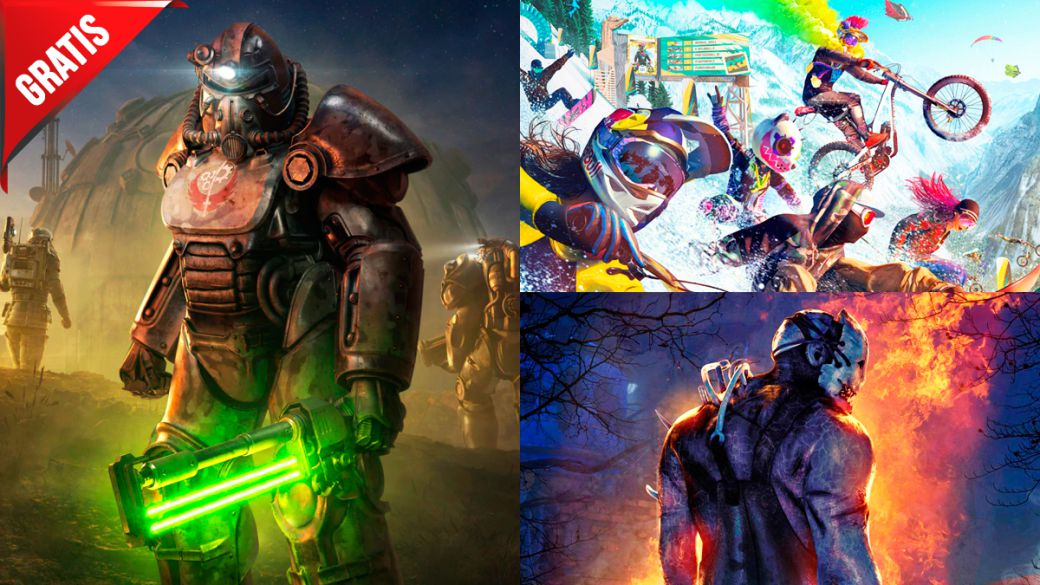 Free and sale games for this weekend: Riders Republic, Fallout 76 and more