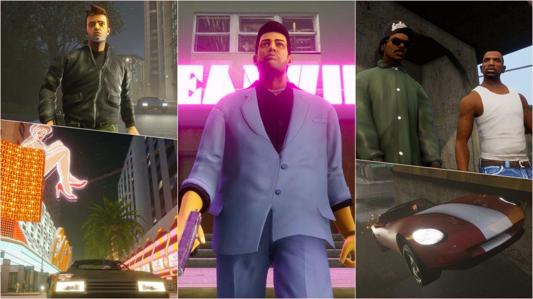 GTA Trilogy the definitive edition novedades mejoras cambios gráficos
