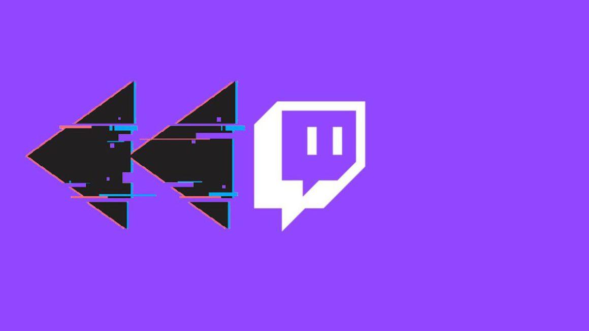 Twitch prueba un botón de Rebobinar
