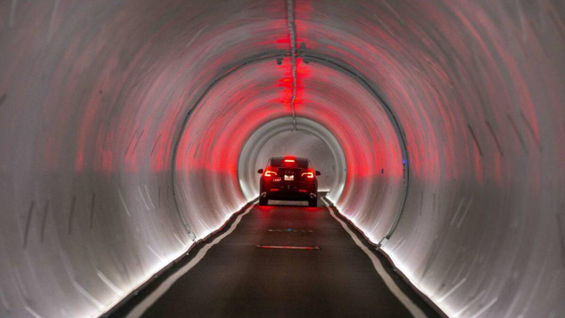 La red de túneles bajo las Vegas con coches Tesla ha sido aprobada