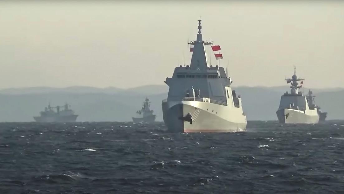 VIDEO: Buques de guerra de Rusia y China realizan por primera vez patrullas conjuntas en el Pacífico