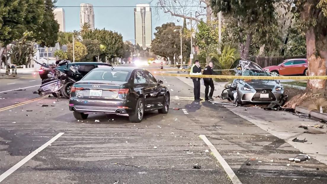 El hijo adolescente de un multimillonario causa la muerte de una mujer en accidente de tráfico con su Lamborghini, pero evita la prisión