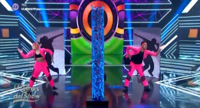Brenda Carvalho shone performing 'Está pasteo' in a synchronized challenge in 'Reinas del show 2 ′ - MAG.