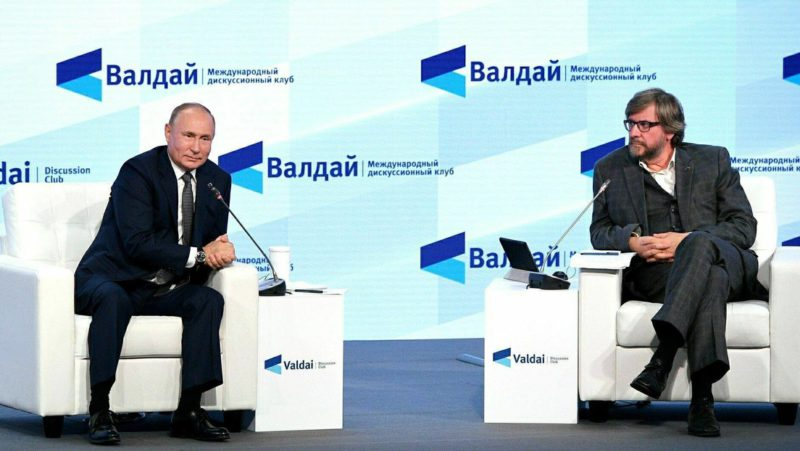 """Moscú: La idea del discurso de Putin en el Foro de Valdái es que Rusia está dispuesta a cooperar pero no permitirá que Occidente le """"dé lecciones"""""""