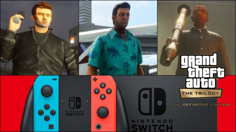 GTA Trilogy on Nintendo Switch will weigh more than 25 GB: know all its details