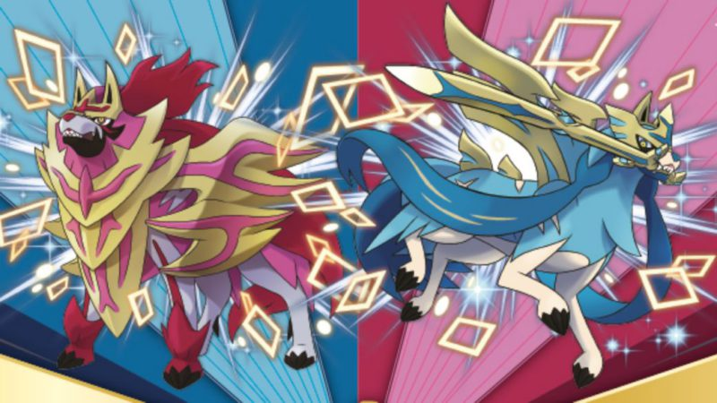 Pokémon Sword and Shield: how to get shiny Zacian and Zamazenta for free from home