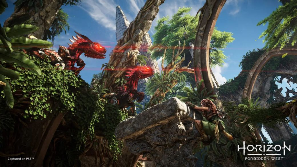 Horizon Forbidden West plunges into exploration at the hands of its developers