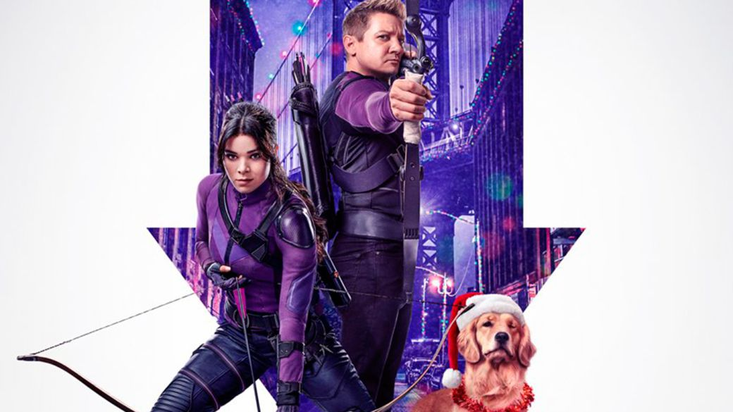 Hawkeye and his most comical official poster: new spot one month after its premiere on Disney +