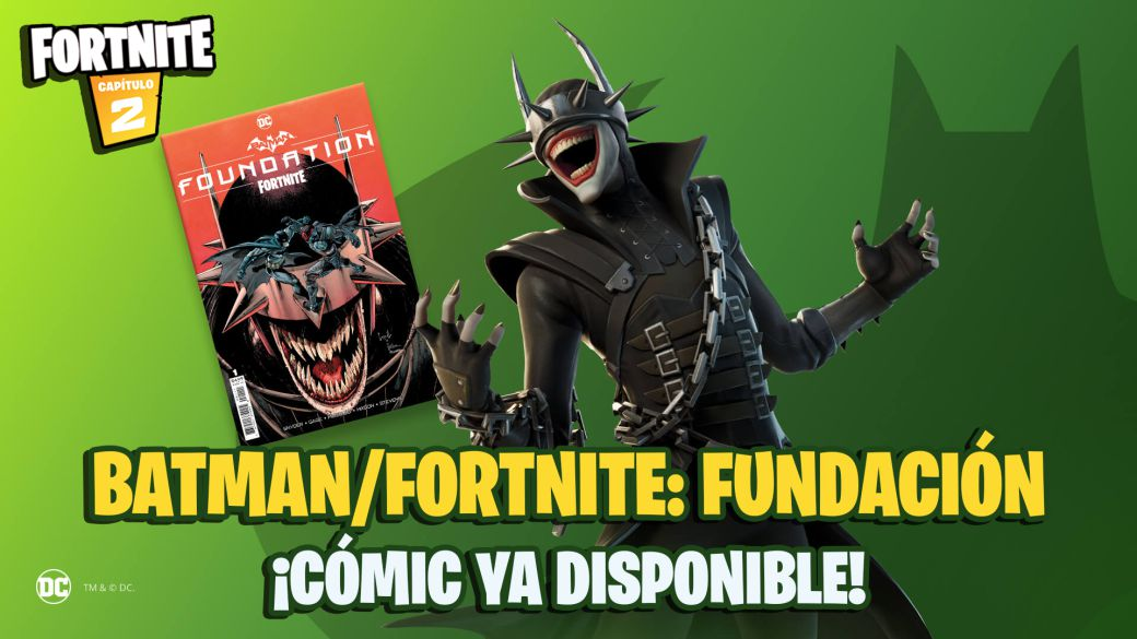 Batman x Fortnite Comic: Foundation Now Available;  where to buy and how to redeem the code