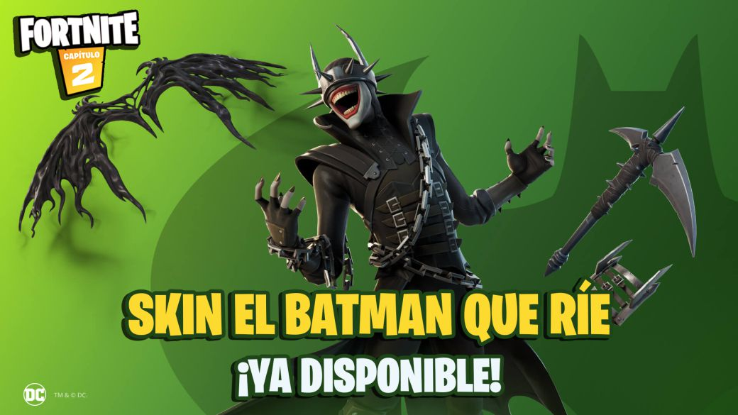 Fortnite: The Batman Who Laughs Skin Now Available;  price and contents