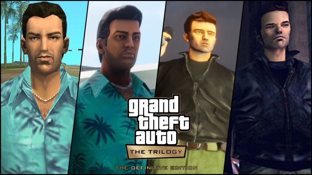 GTA Trilogy: new comparative videos of the three games with the originals