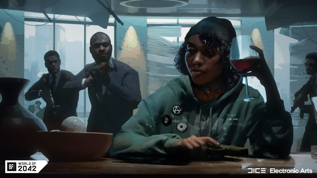 Battlefield 2042 introduces Sundance, its first non-binary character