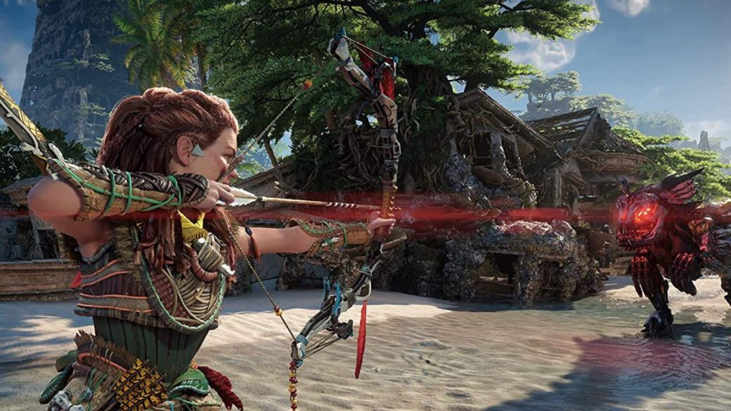These are the combat options in Horizon Forbidden West