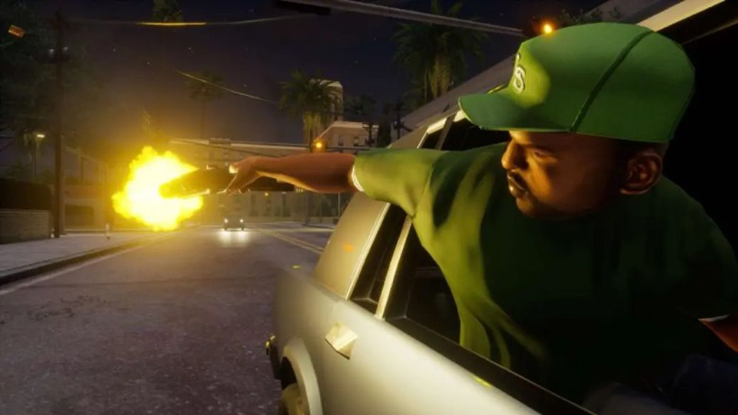 GTA Trilogy will not include all three games on the Switch cartridge: download on sight