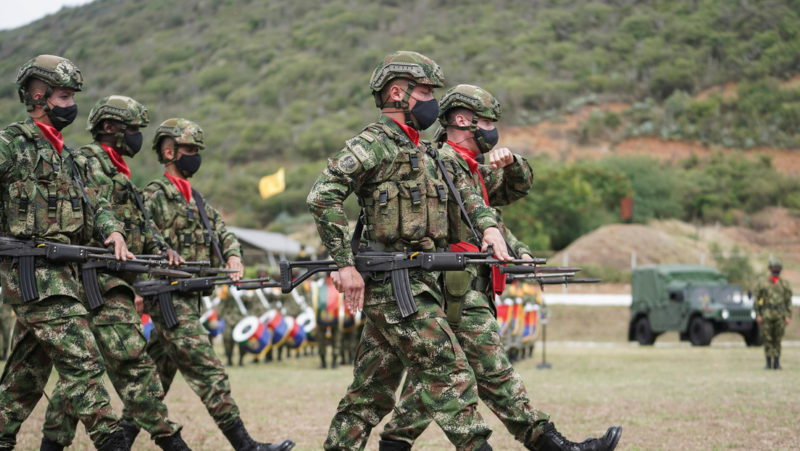 Asesinan a cuatro militares colombianos que participaban en operativos contra el Clan del Golfo