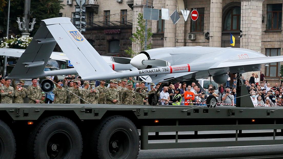 Ucrania confirma el uso por primera vez de un dron de ataque en Donbass