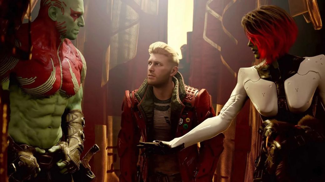 She left the studio, but Eidos Montreal has credited her with Guardians of the Galaxy