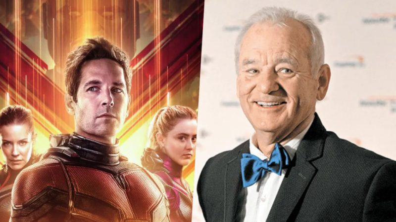 Ant-Man and the Wasp: Quantumania will feature Bill Murray in the cast