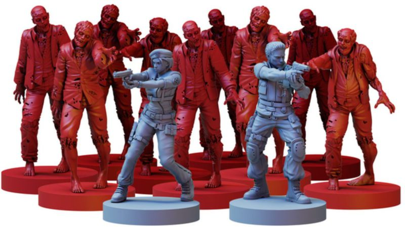Resident Evil board game spreads the T-virus to Kickstarter and sweeps the platform