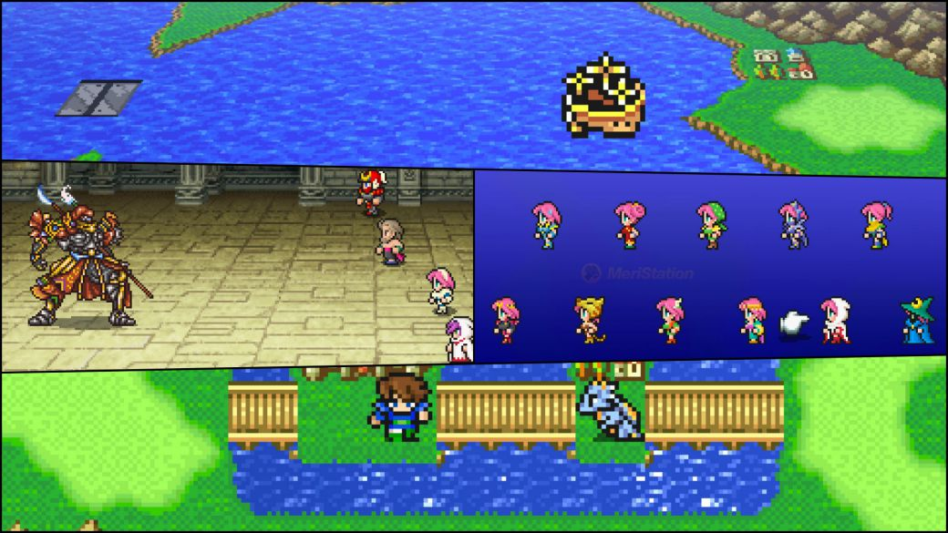 Final Fantasy V Pixel Remaster will arrive in November loaded with improvements