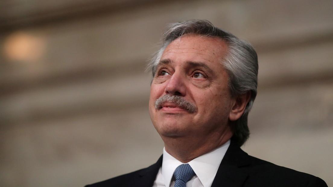 """Alberto Fernández sobre el FMI: """"Si todavía no cerramos un acuerdo es porque no nos vamos a arrodillar"""""""