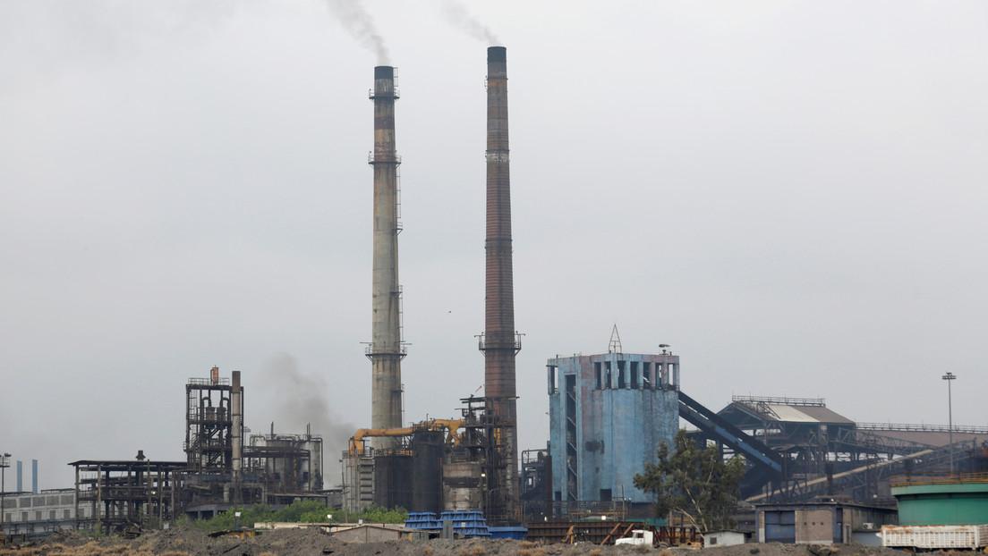 Un incendio en una planta siderúrgica en México deja 11 trabajadores heridos (VIDEOS, FOTO)