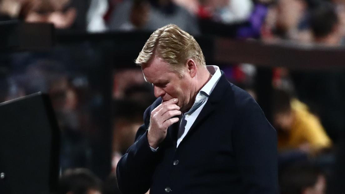 El FC Barcelona destituye a Ronald Koeman tras perder 1-0 ante el Rayo Vallecano