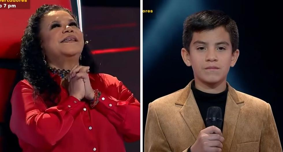 """""""La Voz Kids"""": Child surprises coaches after confessing that he is in love    VIDEO - MAG."""