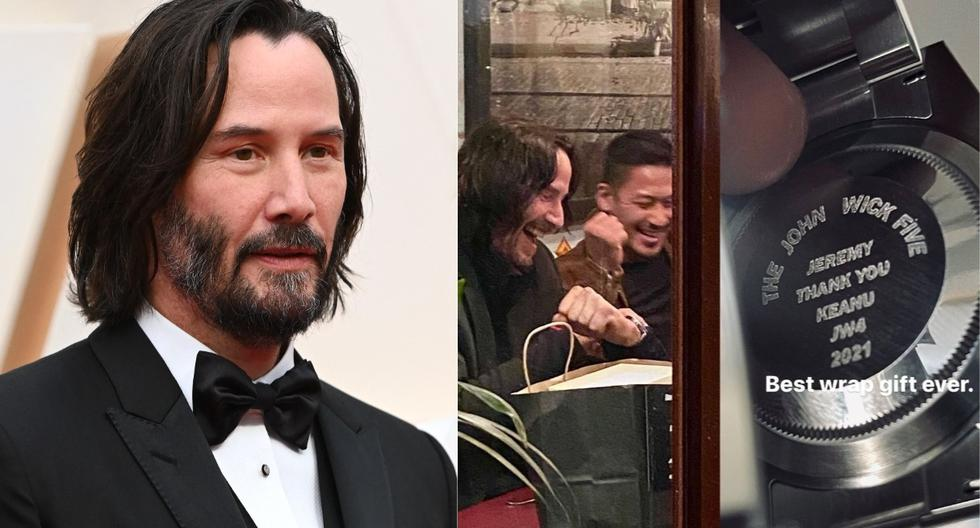 """Keanu Reeves gifted his """"John Wick 4"""" stuntmen with luxurious Rolex - MAG watches."""