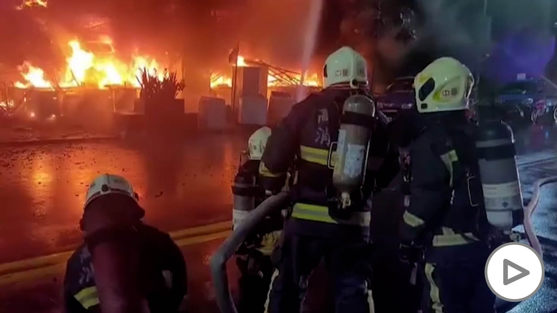 50 Killed by Fire in 13-Story Building in Taiwan