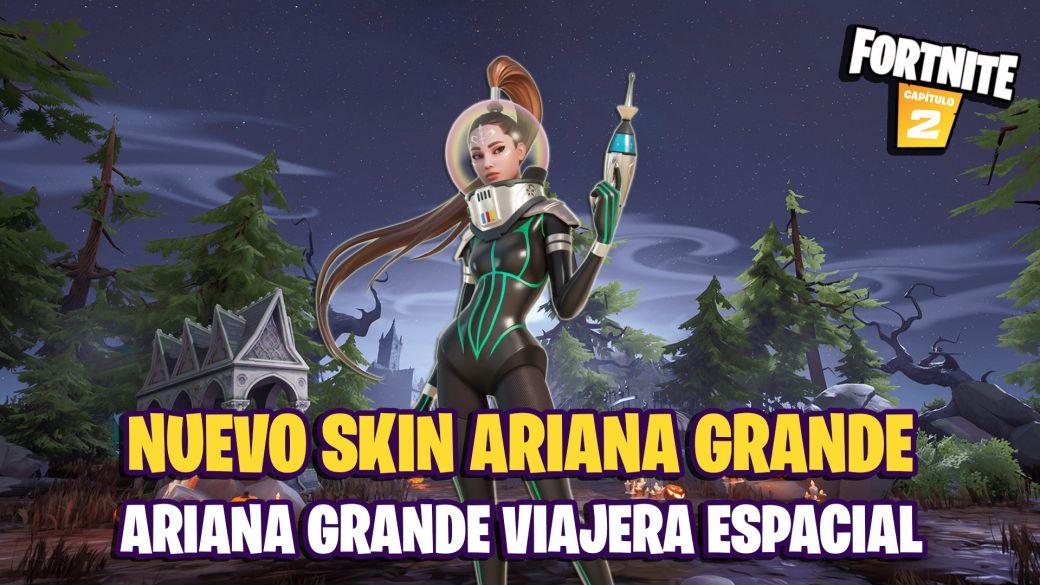 A new Ariana Grande skin comes to Fortnite: Space Traveler