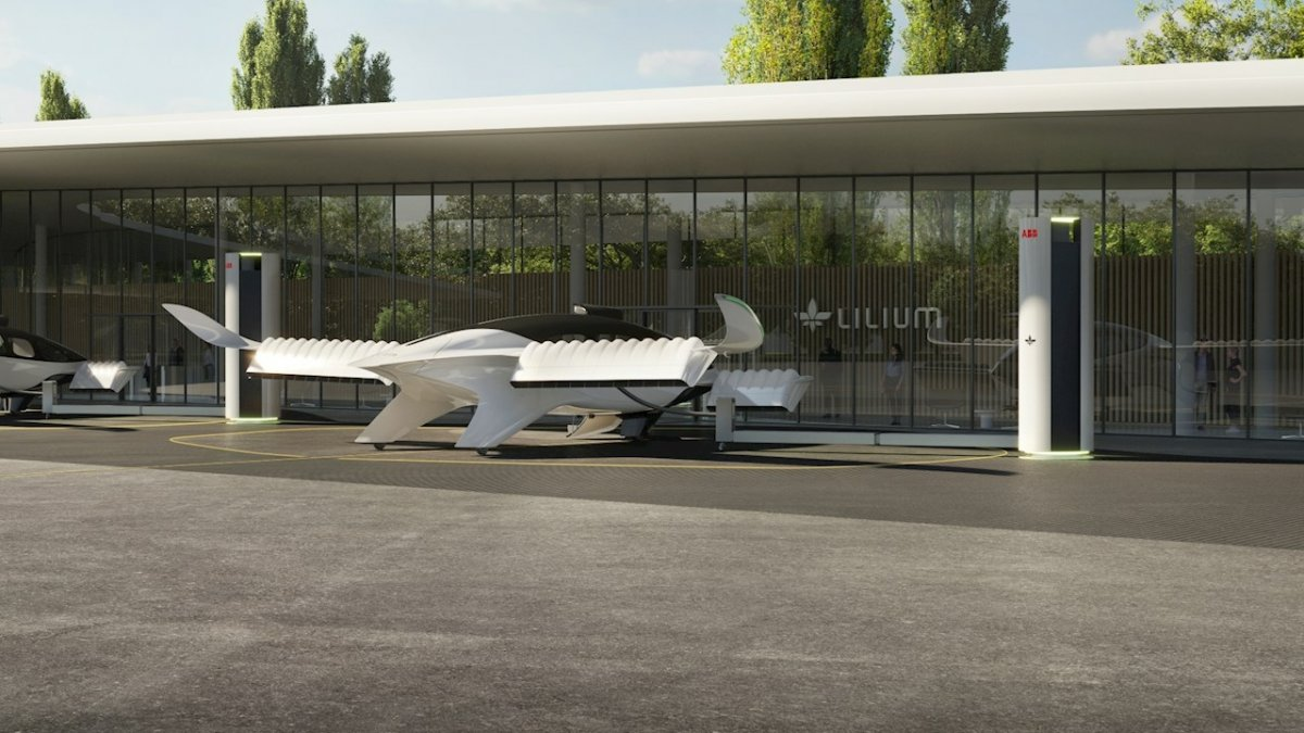 Air taxi: ABB wants to build charging infrastructure for Lilium jets