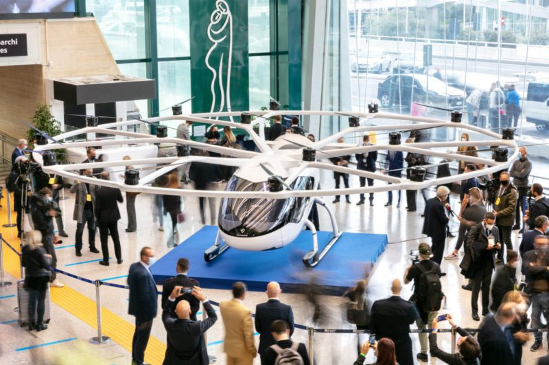 Air taxi: Rome, Nice and Venice should have Vertiports by 2024