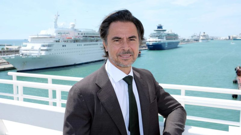 Alfredo Serrano: «Limiting cruises would end this sector in the Balearic Islands»