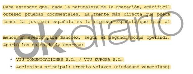 'Confidential Report' of 'El Pollo' Carvajal.