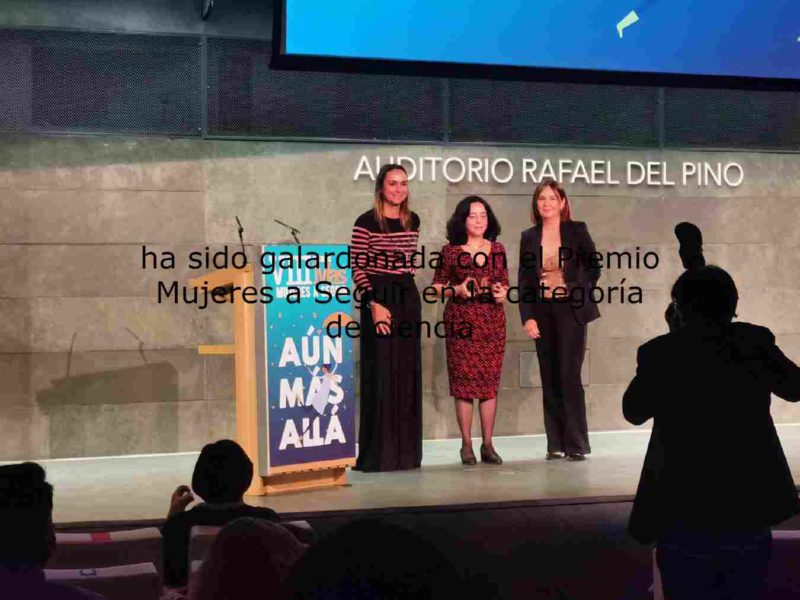 Award for Dr. Alicia Sintes for her research on gravitational waves