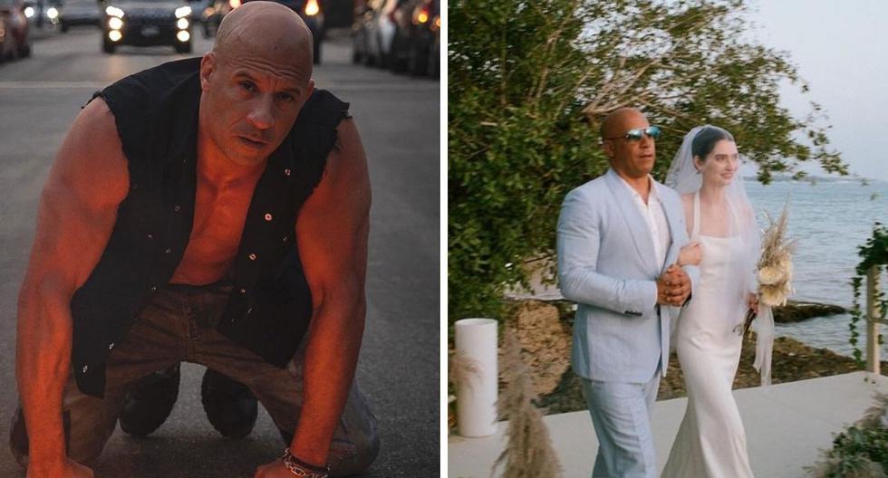 Great gesture!  Vin Diesel led Paul Walker's daughter down the aisle    VIDEO - MAG.