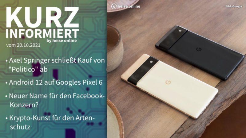 Brief information: Springer, Google, Facebook, species protection